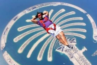 WORLD CHAMPION SKY-DIVING, OMAR ALHEGELAN